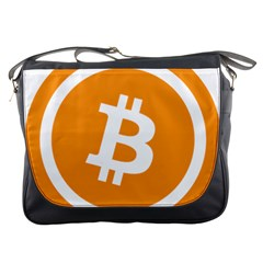 Bitcoin Cryptocurrency Currency Messenger Bags