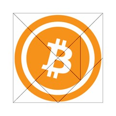 Bitcoin Cryptocurrency Currency Acrylic Tangram Puzzle (6  X 6 )