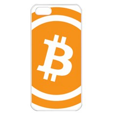 Bitcoin Cryptocurrency Currency Apple iPhone 5 Seamless Case (White)
