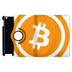 Bitcoin Cryptocurrency Currency Apple iPad 2 Flip 360 Case