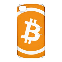 Bitcoin Cryptocurrency Currency Apple Iphone 4/4s Hardshell Case With Stand