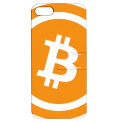 Bitcoin Cryptocurrency Currency Apple Iphone 5 Hardshell Case With Stand