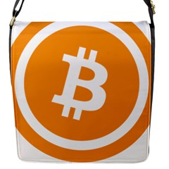 Bitcoin Cryptocurrency Currency Flap Messenger Bag (s)