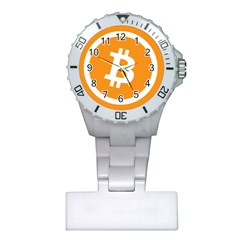 Bitcoin Cryptocurrency Currency Plastic Nurses Watch
