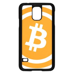 Bitcoin Cryptocurrency Currency Samsung Galaxy S5 Case (black)
