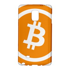Bitcoin Cryptocurrency Currency Galaxy Note Edge