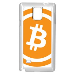 Bitcoin Cryptocurrency Currency Samsung Galaxy Note 4 Case (white)