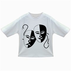Theatermasken Masks Theater Happy Infant/Toddler T-Shirts
