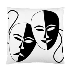 Theatermasken Masks Theater Happy Standard Cushion Case (two Sides)