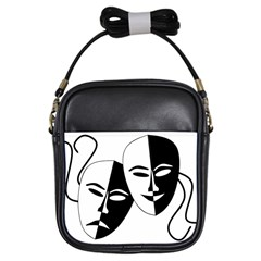 Theatermasken Masks Theater Happy Girls Sling Bags