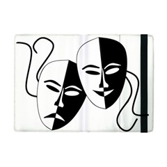 Theatermasken Masks Theater Happy Apple Ipad Mini Flip Case