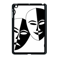 Theatermasken Masks Theater Happy Apple iPad Mini Case (Black)