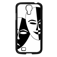 Theatermasken Masks Theater Happy Samsung Galaxy S4 I9500/ I9505 Case (black)