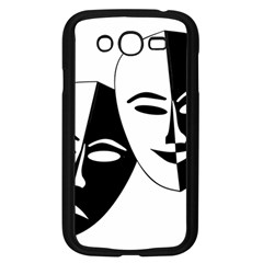 Theatermasken Masks Theater Happy Samsung Galaxy Grand Duos I9082 Case (black)