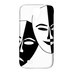 Theatermasken Masks Theater Happy Samsung Galaxy S4 Classic Hardshell Case (pc+silicone)