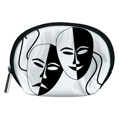 Theatermasken Masks Theater Happy Accessory Pouches (medium)