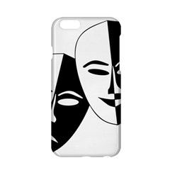 Theatermasken Masks Theater Happy Apple iPhone 6/6S Hardshell Case