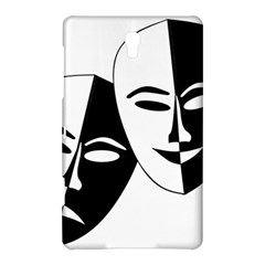 Theatermasken Masks Theater Happy Samsung Galaxy Tab S (8 4 ) Hardshell Case