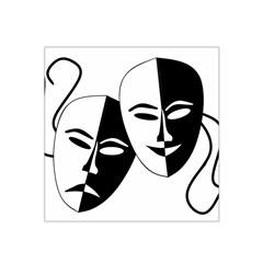 Theatermasken Masks Theater Happy Satin Bandana Scarf