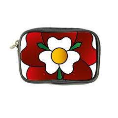 Flower Rose Glass Church Window Coin Purse