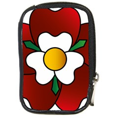Flower Rose Glass Church Window Compact Camera Cases