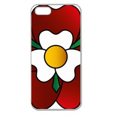 Flower Rose Glass Church Window Apple Seamless iPhone 5 Case (Clear)