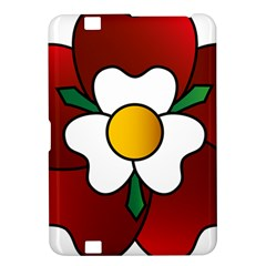 Flower Rose Glass Church Window Kindle Fire HD 8.9