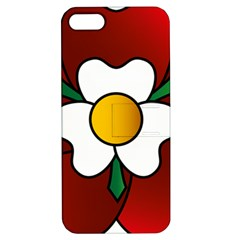 Flower Rose Glass Church Window Apple iPhone 5 Hardshell Case with Stand