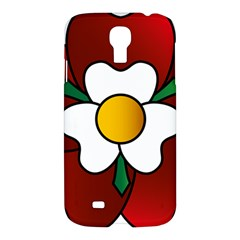 Flower Rose Glass Church Window Samsung Galaxy S4 I9500/I9505 Hardshell Case