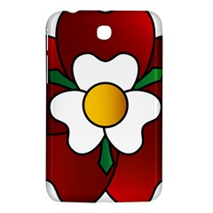 Flower Rose Glass Church Window Samsung Galaxy Tab 3 (7 ) P3200 Hardshell Case