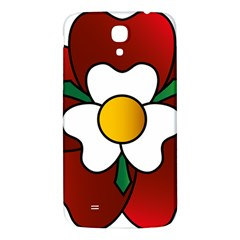 Flower Rose Glass Church Window Samsung Galaxy Mega I9200 Hardshell Back Case