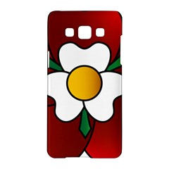 Flower Rose Glass Church Window Samsung Galaxy A5 Hardshell Case