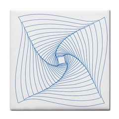 Spirograph Pattern Drawing Design Tile Coasters
