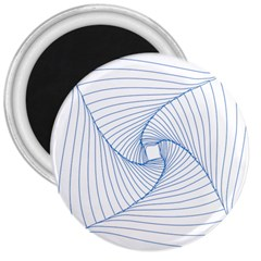 Spirograph Pattern Drawing Design 3  Magnets
