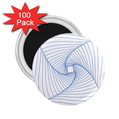 Spirograph Pattern Drawing Design 2.25  Magnets (100 pack)