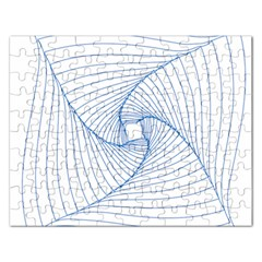 Spirograph Pattern Drawing Design Rectangular Jigsaw Puzzl