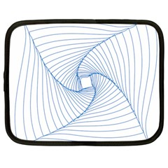 Spirograph Pattern Drawing Design Netbook Case (Large)
