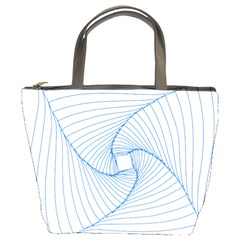 Spirograph Pattern Drawing Design Bucket Bags