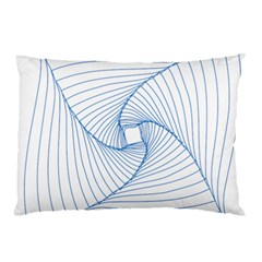 Spirograph Pattern Drawing Design Pillow Case