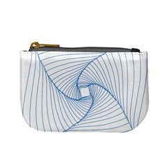 Spirograph Pattern Drawing Design Mini Coin Purses