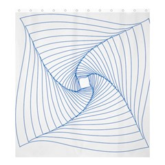 Spirograph Pattern Drawing Design Shower Curtain 66  X 72  (large)