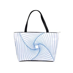 Spirograph Pattern Drawing Design Shoulder Handbags