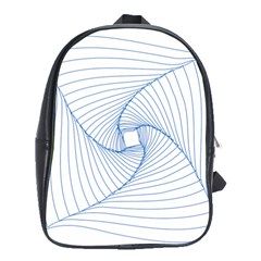 Spirograph Pattern Drawing Design School Bags(large)