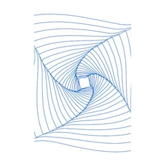Spirograph Pattern Drawing Design Shower Curtain 48  X 72  (small)