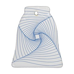 Spirograph Pattern Drawing Design Bell Ornament (two Sides)
