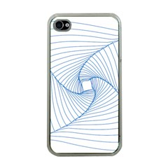 Spirograph Pattern Drawing Design Apple Iphone 4 Case (clear)