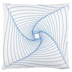 Spirograph Pattern Drawing Design Large Cushion Case (one Side)