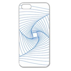 Spirograph Pattern Drawing Design Apple Seamless Iphone 5 Case (clear)