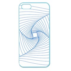 Spirograph Pattern Drawing Design Apple Seamless iPhone 5 Case (Color)