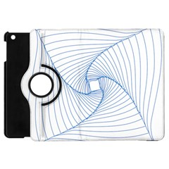 Spirograph Pattern Drawing Design Apple Ipad Mini Flip 360 Case